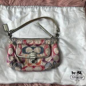 Coach bag with dust bag